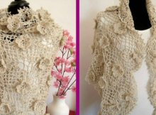 Crochet Shawl Pattern Josephine