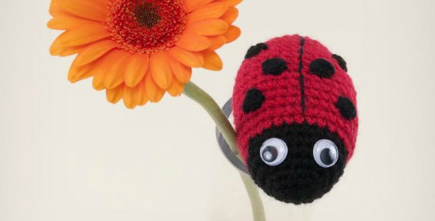 Crochet Ladybird Is A Super Cute Amigurumi Pattern