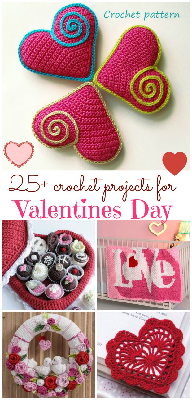 valentines day crochet patterns
