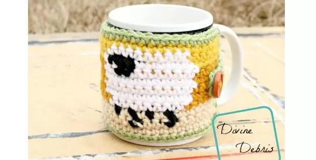 crochet tea cosy sheep