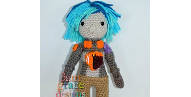 Sabine Wren from Star Wars Rebels free crochet pattern