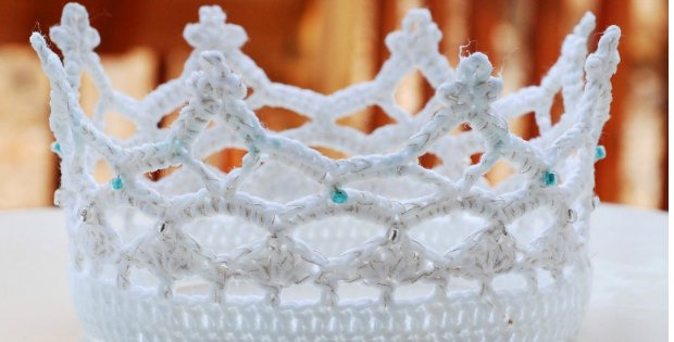 crochet princess crown