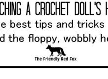 Crochet Doll Head Attachment