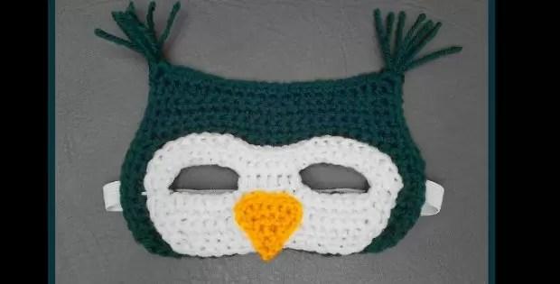 crochet owl mask crochet pattern