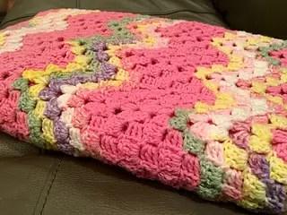 vintage rippling blocks stitch
