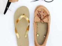 Crochet Shoes Moccasins