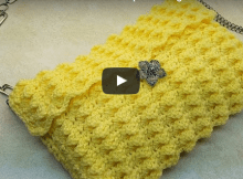 Crochet the Lemon Drop Clutch Crochet Video Tutorial