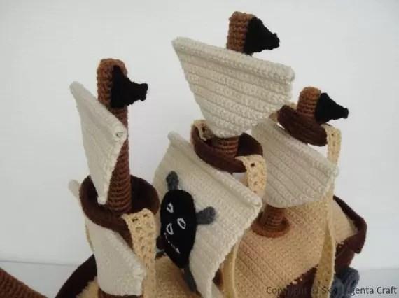 Crochet Pirate Ship