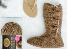 Crochet Boots Ladies Pattern