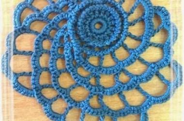 Crochet Ruso Flor