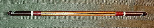 BRAINSBARN.com exotic wood tunisian yarn hooks