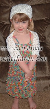 crochet kiddie shrug free pattern cristinascrochethaven