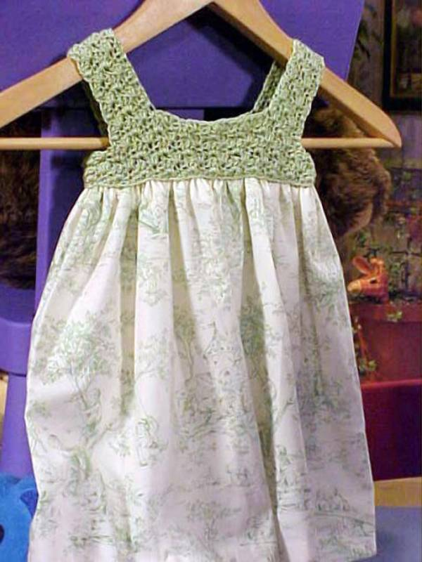 Crochet Patterns Little Girl Dresses : Crochet a Kid?s Dress - Crochet