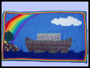 noah's ark at afghans4u.com crochet
