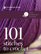101 CROCHET STITCHES BY INTERWEAVE PRESS