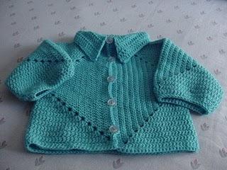 57a62f6cc Hexagon Baby Sweater Patterns – Crochet