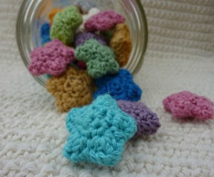 crochet wishing star