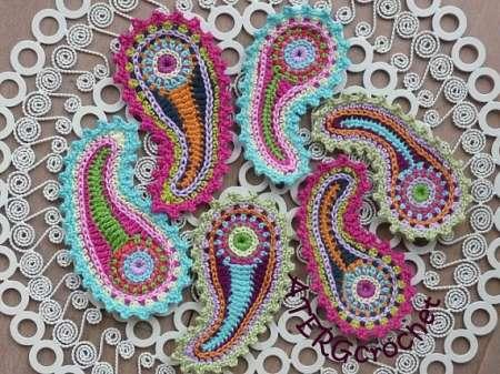 Scrumptious Paisley Crochet Crochet