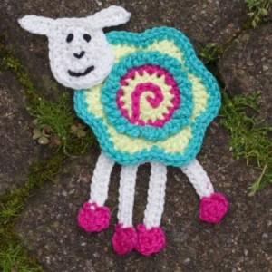 cro sheep applique 1113
