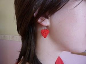 cro heart earring 0114