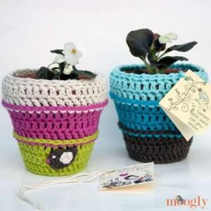 cro pot of flowers 0314