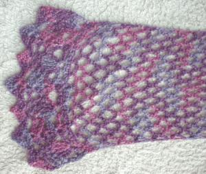 cro openwork scarf 0514