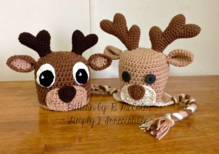 Dog Antler Hat Knitting Pattern : Crochet Goodies For Your Consideration   Crochet
