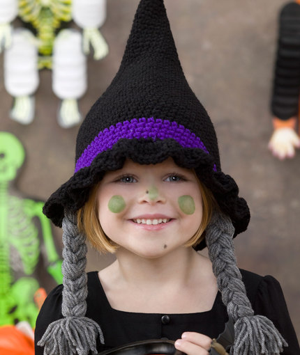 Free Pattern Witches Hat Crochet
