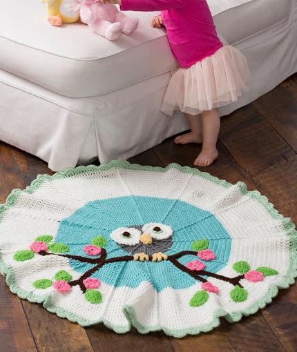 Handmade Christmas Gifts – Owl Blanket