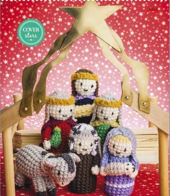 sweet Christmas nativity characters
