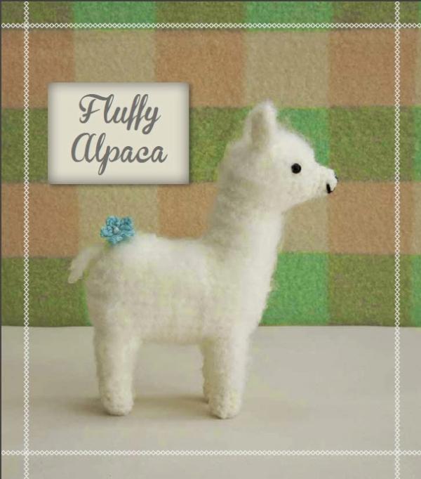 how to crochet an alpaca pattern