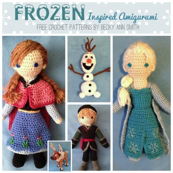 Free Patterns Frozen Stuff Let It Go Crochet
