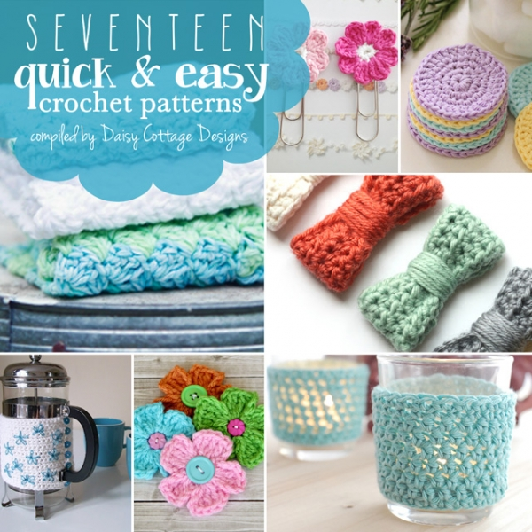 45 Fun and Easy Crochet Projects |Easy Crochet Craft Projects