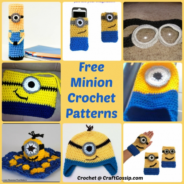 Free Crochet Batman Minion Pattern : Minion Crochet patterns ? Crochet