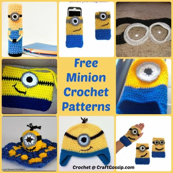 Free Small Minion Crochet Pattern : Minion Crochet patterns ? Crochet