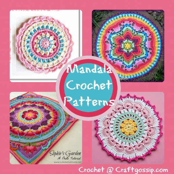 Crochet Mandala Patterns Crochet Adorable Free Crochet Mandala Pattern