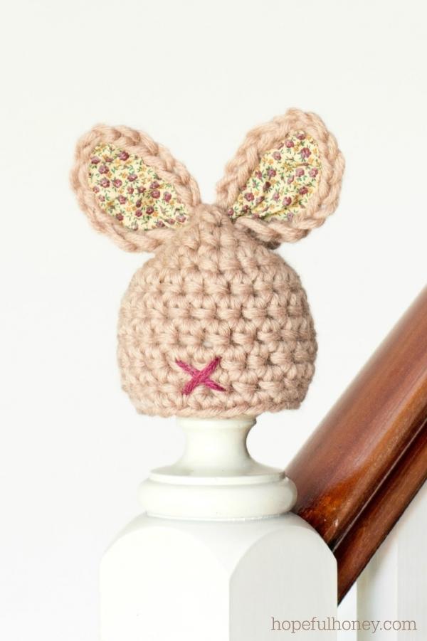 Newborn Baby Hat Crochet Pattern 6