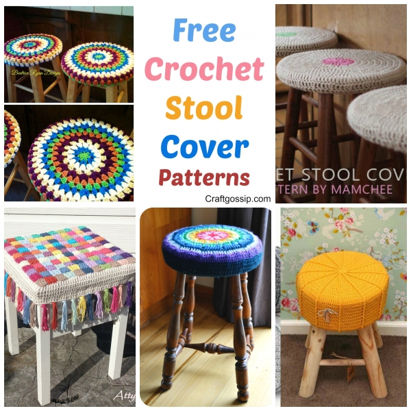 chair stool covers lounge bedroom 5 crochet
