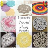 8 Beautiful Crochet Doily Patterns