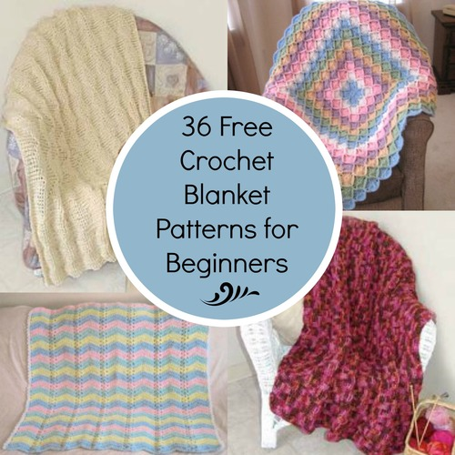 Crocheting For Beginners Patterns : 36 Crochet Afghans For Beginners - Crochet