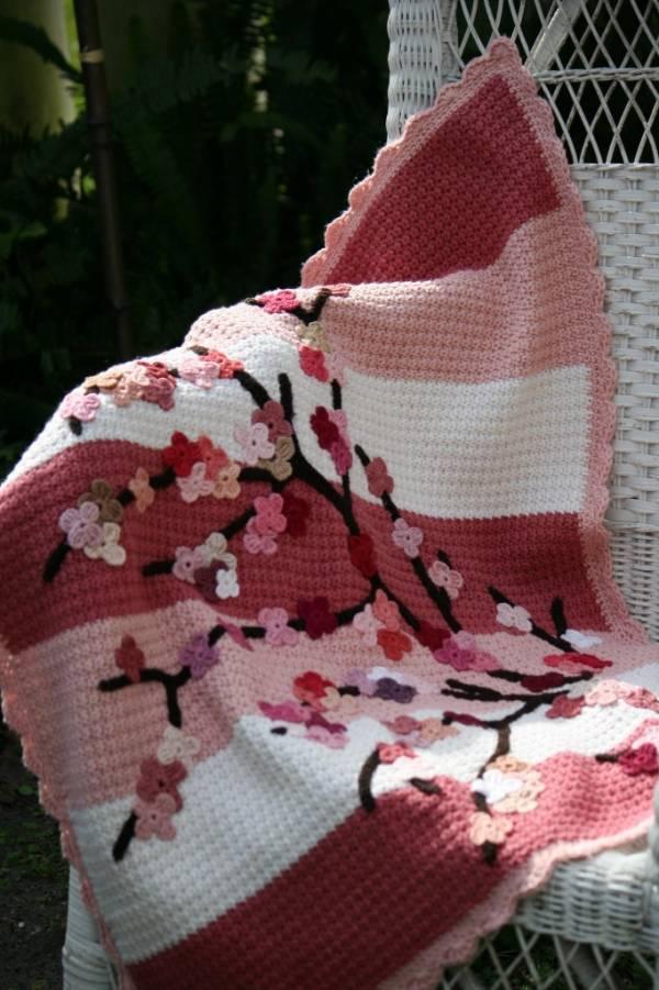 cherry-blossom-blanket