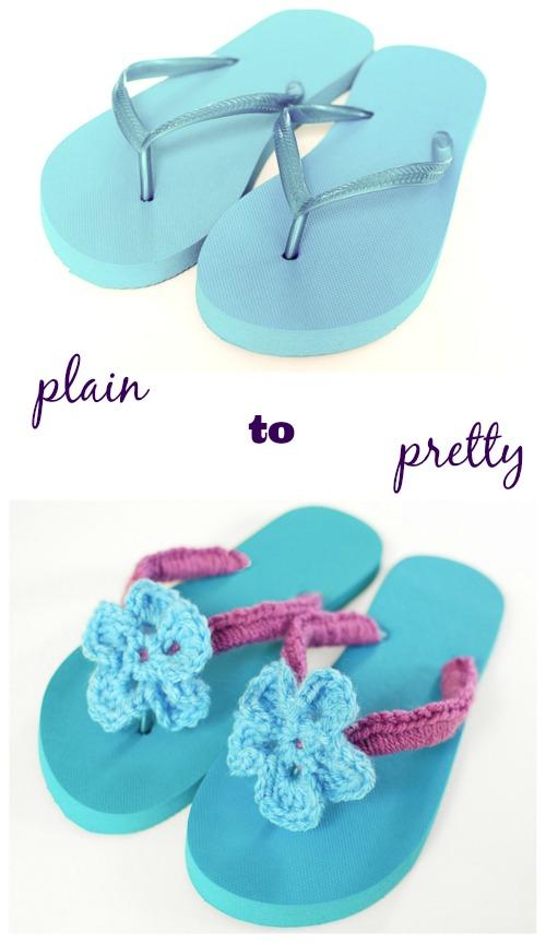 Flip-flop-thongs-crochet-make-pretty-diy
