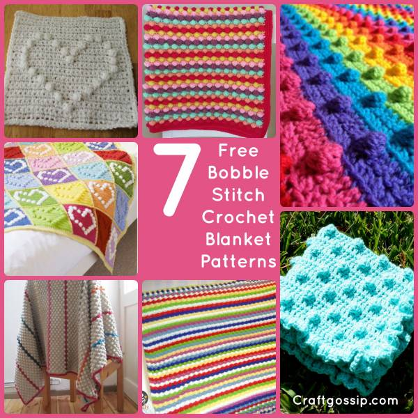 7 Bobble Stitch Blankets You Will Want To Make Crochet