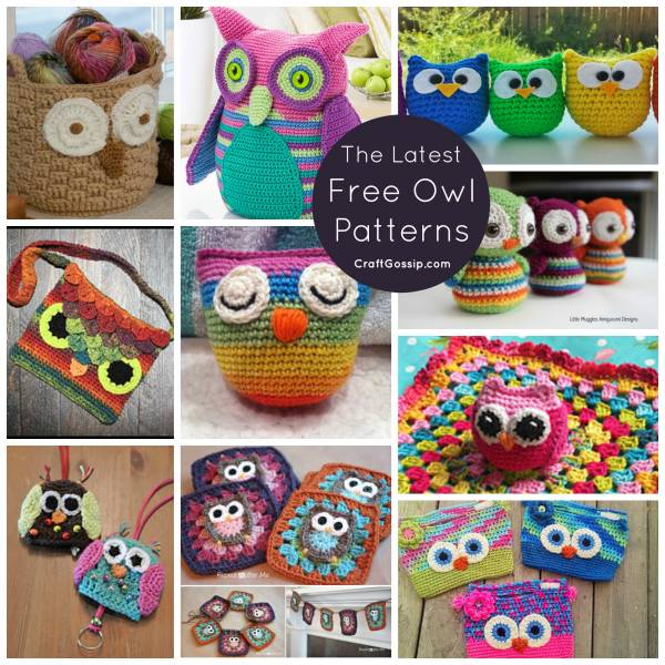 10 Owl Patterns What A Hoot Crochet