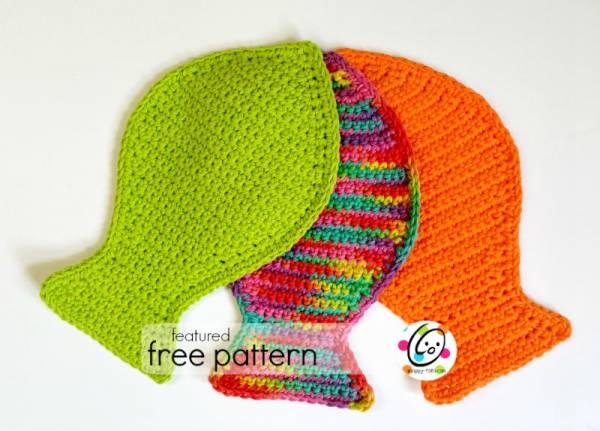 Free Fishy Dish Cloth Scrubbies Crochet