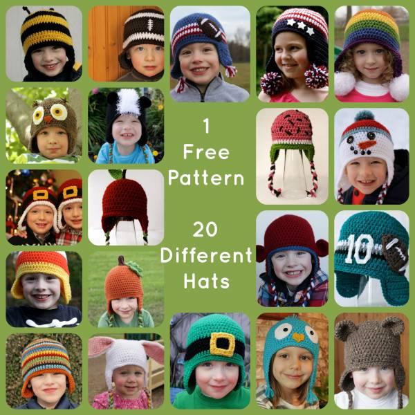 versatile-hat-pattern-beanie-kids-easy-ideas