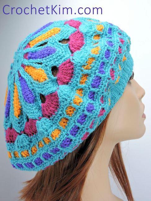 Mandala-Beanie-hat-free-crochet-pattern