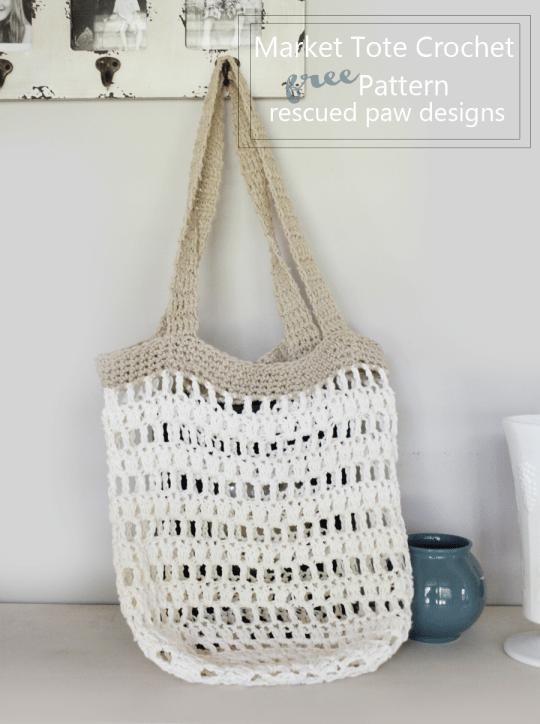 Free Pattern  U2013 Market Bag  U2013 Crochet