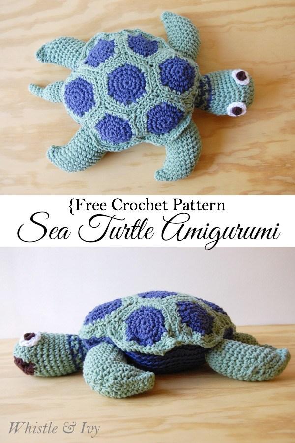 CrochetTortoiseCrochetPatternPIN