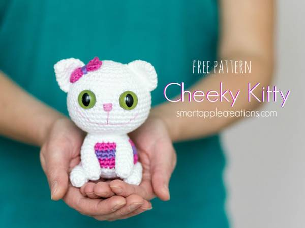 Free pattern - little amigurumi cat1